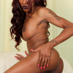 Black-Tgirls Beautiful Coco has a smoking hot body