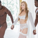 Blacked Trophy Wife does two BBCs for her husband Layna Landry, Isiah Maxwell & Jason Brown