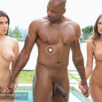 Blacked Valentina Nappi & August Ames in Two Rich Cheating Housewives Share a BBC