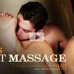 FantasyMassage Holly Heart, Rob Carpenter Sons First Massage