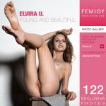 FemJoy presents photos Elvira U – Young And Beautiful