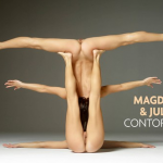 Hegre-Art presents photos Julietta and Magdalena in Contortionists