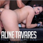 Trans500 Aline Tavares in Fill my TGirl Ass
