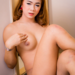 Ladyboy-Ladyboy Gorgeous Femfem has a sexy body