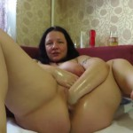 Mature milf deep pussy fisting