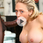 Throated – Kagney Linn Karter – Blonde Babe, Black Cock