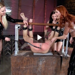 FemdomEmpire – Alexandra Snow, Kendra James, Lexi Sindel – Spread Wide and Beaten Red
