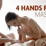 Hegre-Art – Julietta and Magdalena – 4 Hands Penis Massage