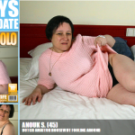 Mature.nl – Anouk S. (45) – Dutch amateur housewife fooling around