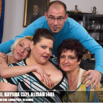 Mature.nl – Helina K. (38), Kaysha (52), Alisah (40) – Mat-ProfGroup014 – Hot and Steamy Mature Groupsex Session