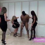 MiamiMeanGirls – New Girls Bash Him With Princess Bella