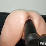 SicFlics – Sarah's enormous dildo fuck