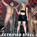 TheEnglishMansion – Featuring Mistress Sidonia – Electrified Steel Cage