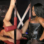 TheEnglishMansion – Mistress TTease – Big Black Strapon