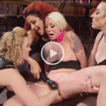 WhippedAss.com – Lorelei Lee , Cherry Torn , Mistress Kara and Daisy Ducati – Dyke Bar 2: Lorelei Lee Devoured by Hot Horny Lesbians!