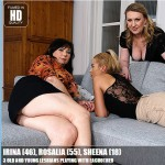 Mature.nl – Irina (46), Rosalia (55), Sheena (18) – Lesbian-Alex415 – 3 Old and Young Lesbians Playing With Eachother