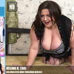 Mature.nl Helina K. (38) – Mat-Prof040 – Big Breasted BBW Fingering Herself