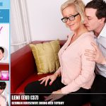 Mature.nl – Leni (EU) (37) – Mat-Ros012 – German Housewife Doing Her ToyBoy