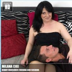 Mature.nl – Milana (38) – Mat-BustyHard135 – Horny Housewife Fucking and Sucking