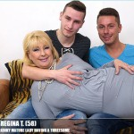 Mature.nl – Regina T. (58) – Mat-BustyHard141 – Kinky mature Lady Having a Threesome