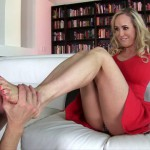 FemdomEmpire – Brandi Love – Mean Milf Foot Slave
