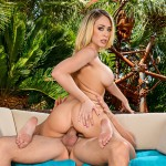 MrsCreampie – Kagney Linn Karter Sneaks a Quickie on Vacation – 29.07.2016