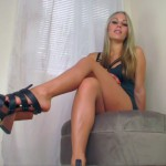Divine Goddess Jessica – Heel Dangle JOI