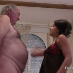 Femdom – Femdomshed – Nasty Natascha – Oh my god I love slapping your stupid face