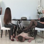 Femdom – FemmeFataleFilms – Divine Mistress Heather, Lady Mia Harrington – Maid For Fucking