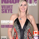 Mature.nl – Velvet Skye (48) – Canadian Housewife Fingering Herself – Mat-Art003 – 28.07.2016
