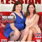 Mature.nl – Holly Kiss (EU) (37), Tiger Cub (EU) (47) – British mature lesbians sharing their pussies – Mat-Tower37 – 27.07.2016