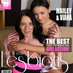 Mature.nl – Viana (49), Hailey (18) – Lesbian-Alex424 – Horny Old and Young Lesbian Couple Fooling Around