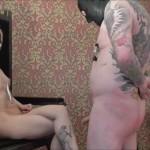 Femdom – DeutscheDominas – Miss Strange – Wichsen vor Naked Mistress