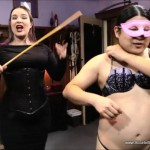 Aliceinbondageland – Sissy Joy Clothing Exchange Fashion Show Foursome – Mistress Vyra and Mistress Sofia