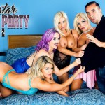 DigitalPlayground presents Aaliyah Ca Pelle, Jasmine James, Michelle Thorne, Sienna Day – Raw Cuts: Porn Star Pajama Party Part 2 – 11.08.2016