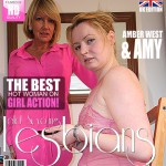 Mature.nl – Amy (EU) (52), Amber West (EU) (27) – Lesbian-Amy001 – 2 Old and young Lesbians Playing With Eachother