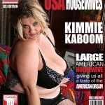 Mature.nl – Kimmie Kaboom (45) – American BBW Fingering Herself – USA-Tob059