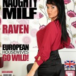 Mature.nl – Raven (EU) (34) – British Milf Fingering Herself – 26.08.2016