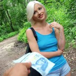 Mofos – PublicPickUps – Zazie Skymm – Euro Babe Fucked in the Woods – 04.08.2016