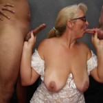 BlowbangGirls – Mature Tracy Sucking 2 Dicks