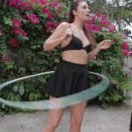 Cosmid – April Sutton in April Hula Hoop – 16.08.2016
