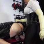 Femdom – Mistress Ezada Sinn – Humiliating assfuck: Mistress Ezada fucking Her chaste bitch