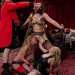 Kink – TheUpperFloor presents Aiden Starr, Lilith Luxe, Mona Wales, Bella Rossi, Kira Noir in A Slave Orgy Like No Other – 24.08.2016