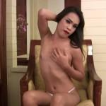 Ladyboy-ladyboy – Sexy Slim Poen Jacks Her Hard Cock! – 24.08.2016