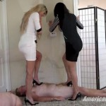 AmericanMeanGirls – Goddess Brooke, Goddess Harley, Princess Chanel – Olympic Trampling