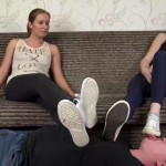UNDER SWEET WEIGHT – Nikki, Tiffany – sweaty soles after workout