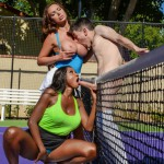 Brazzers – BigTitsInSports – Diamond Jackson & Nikki Benz – Game, Set, Match Pussy – 30.08.2016