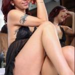 Shemale.xxx – Melody Mayhem Strokes Her Sexy Cock! – 01.08.2016