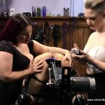 Aliceinbondageland – Sissy Fucking Machine Humiliation – FemDom Threesome With Denali Winter
