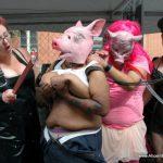 Aliceinbondageland – Folsom Street Fair Public Humiliation – Sissy Piggy Chastity Mistress